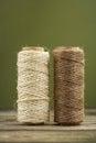 Jute and sisal natural fibers Royalty Free Stock Image