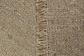 Jute texture background of natural unbleached canvas or burlap showing fibre and weave and pattern Royalty Free Stock Image