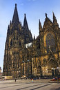 Kölner dom high cathedral of st peter old ancient cathedral in cologne north rhine westphalia germany it is a monument of german Stock Photos