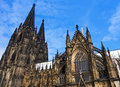 Kölner dom high cathedral of st peter old ancient cathedral in cologne north rhine westphalia germany it is a monument of german Royalty Free Stock Image