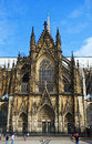 Kölner dom high cathedral of st peter old ancient cathedral in cologne north rhine westphalia germany it is a monument of german Royalty Free Stock Photo