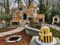 Kaatsheuvel / The Netherlands - March 29 2018: The sweet house of the fairy tale Hansel and Gretel in Theme Park Efteling