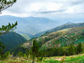 Kabayan benguet this site is trail going to mt pulag Stock Images