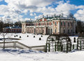 Kadriorg the royal palace in tallinn Royalty Free Stock Photo