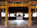 Kagura stage, Himure Hachiman Shrine, Omi-Hachiman, Japan