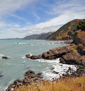 Kaikoura Vertical Panorama, New Zealand Stock Photography