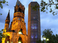 Kaiser Wilhelm Memorial Church Royalty Free Stock Image