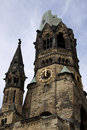 Kaiser Wilhelm Memorial Church. Berlin Royalty Free Stock Photography
