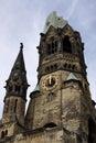 Kaiser Wilhelm Memorial Church. Berlin Royalty Free Stock Photo