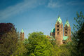 Kaiserdom speyer view of the medieval romanic cathedral at germany Royalty Free Stock Photography