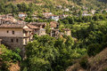 Kakopetria, a traditional mountain Cyprus village. Nicosia Distr Royalty Free Stock Photo