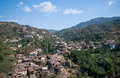 Kakopetria village cyprus mountain of in troodos mountains Royalty Free Stock Photo