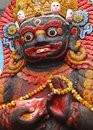 Kala bhairawa kathmandu nepal bhairava is an important deity of the newars all the traditional settlements of newars have at least Royalty Free Stock Image