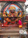 Kala bhairawa kathmandu nepal bhairava is an important deity of the newars all the traditional settlements of newars have at least Stock Images