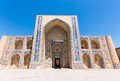 Kalan mosque in bukhara in uzbekistan the lies the historic center of old town which used to be an important stop along the famous Stock Photos
