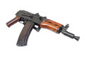 Kalashnikov ak para isolated on a white background Royalty Free Stock Image