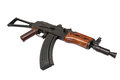 Kalashnikov ak spetsnaz isolated on white background Stock Image