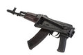 Kalashnikov assault rifle aks isolated on a white background Royalty Free Stock Photo