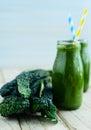 Kale smoothie Royalty Free Stock Photo