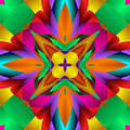 Kaleidoscope Stock Image