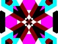 Kaleidoscope blocky Royalty Free Stock Image