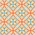 Kaleidoscope. Colorful vector seamless pattern. Bright tiles with abstract ornament Royalty Free Stock Photo