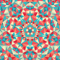 Kaleidoscope geometric colorful pattern. Abstract background Royalty Free Stock Photo
