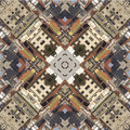 Kaleidoscope square texture pattern symmetry background abstract wallpaper abstraction textured repetitive geometric city Royalty Free Stock Image
