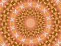Kaleidoscope Star surrounded by unusual shapes