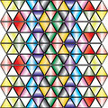 Kaleidoscopic background - vector. Stock Photography
