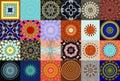 Kaleidoscopic Designs Royalty Free Stock Photo