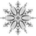 Kaleidoscopic Floral Pattern. ...