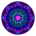 Kaleidoscopic Mandala Ornament