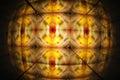 Kaleidoscopic Light Pattern