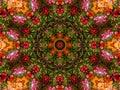 Kaleidoscopic Wallpaper Pattern