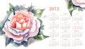 Kalendarz dla 2013 Zdjęcia Stock