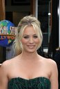 Kaley cuoco at the hop world premiere universal studios universal city ca Royalty Free Stock Photography