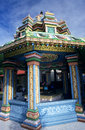 Kali tamil temple, Saint Andre, Reunion Island Royalty Free Stock Images