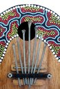Kalimba traditional african musical instrument called Stock Photography