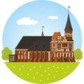 Kaliningrad. Cathedral