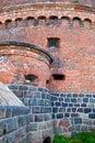 Kaliningrad city. Tower Dona Fortress Complex