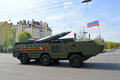 Kaliningrad russia may the tactical point missile s system after parade in honor of victory day Stock Images