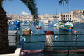 Kalkara and Grand harbour, Malta Royalty Free Stock Photos