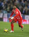 Kalu Uche of Almeria Stock Photos