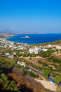 Kamari Bay Of Kos Island Royalty Free Stock Photo