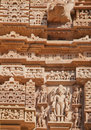 Kamasutra temple in india monuments depicting love practices and relationships that were erected during the years ce to ce Stock Photography