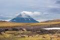 Kamchatka extinct volcano far east russia Royalty Free Stock Photos