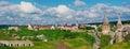 Kamenets波多尔斯基城堡,乌克兰 库存照片