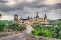 Kamianets podilskyi castle hdr image ukraine Royalty Free Stock Photos