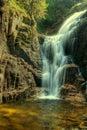 Kamieńczyk Waterfalls Stock Photo